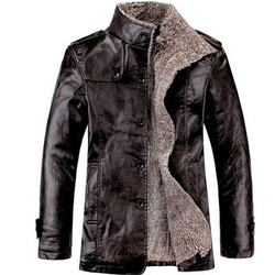 Men's Leather Jacket...