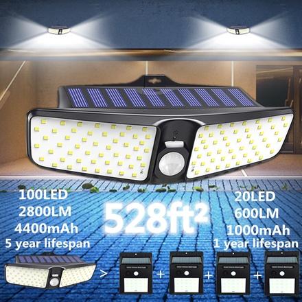 100 LED Solar Motion...