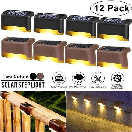 4/8/12Pack LED Solar...