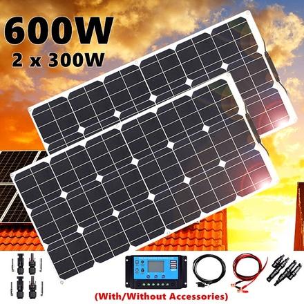 600W 2*300W Solar Pa...