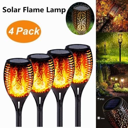 1/2/4Pack Solar Torc...