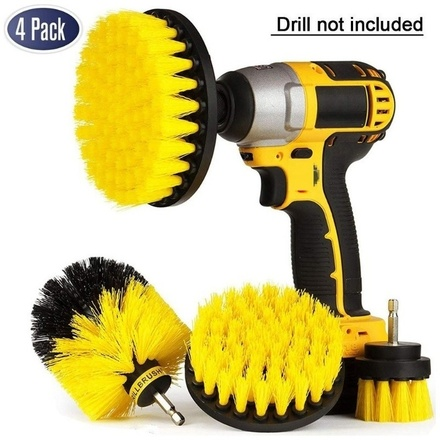 4Pcs Drill Brush Kit...
