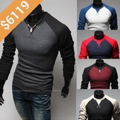 Men's Colorful Baseb...